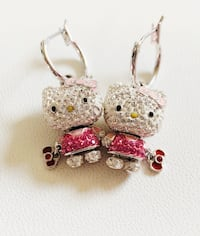 Swaroski Limited Edition Hello Kitty earrings