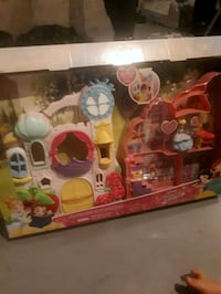 toddler's pink and multicolored dollhouse playset box Edmonton, T5T 3H6
