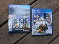 two Sony PS4 game cases Mount Forest, N0G 2L1