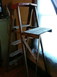 Wood ladder still available today. In Sharon Sharon, 16146