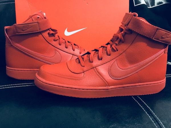56494acfa35470 Used Nike Vandal High Supreme Dragon Red size 13!!! for sale in New York -  letgo