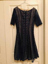 women's lace dress ( blue) never worn Edmonton, T5P 1V6