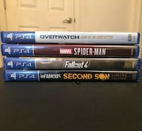 Sony PlayStation 4 Ps4 Slim 1tb Console System with Four Games BOSTON