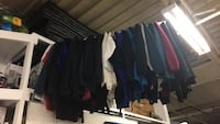 assorted-color clothes lot 1313 km