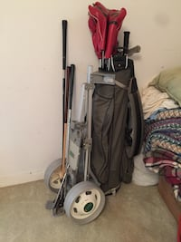 Golf Bag with LOTS OF CLUBS, more clubs not shown but are included! Independence, 64052