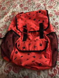 pink and black leather backpack Eastvale, 91752