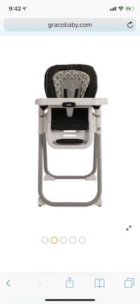gray and black high chair Miami, 33156