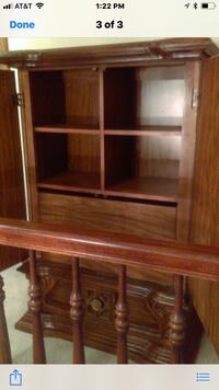 brown wooden cabinet with shelf Brunswick, 44212