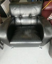 Leather one seater