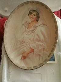 Princess Diana Bradford Exchange collectible plate Buffalo Grove, 60089