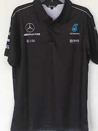 Mercedes Petronas Racing Men's Short Sleeve Shirt size S, M and L   Montréal, H4N 1K9