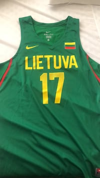 Lithuania Basketball Jersey Size L Alexandria, 22311