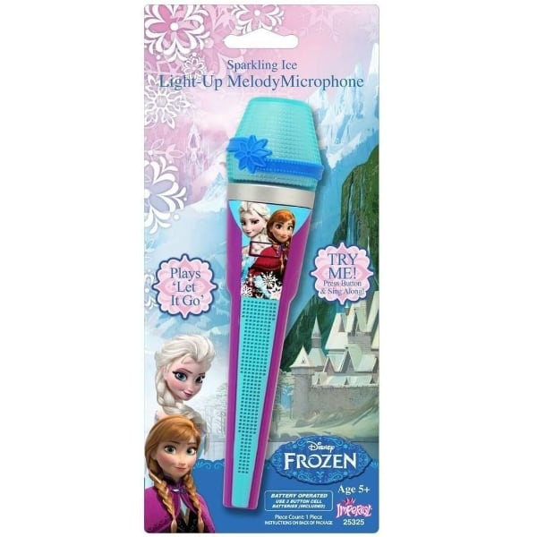 Disney Frozen Toy Microphone Princess Sing- Along Microphone- NEW!