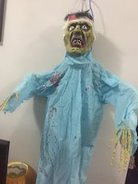 Hanging Zombie Patient 7.5 Feet Tall