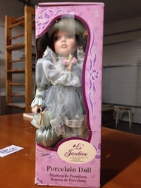 Porcelain Doll never removed from package