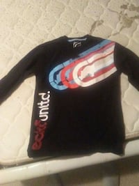 black and red Supreme crew neck sweater Winnipeg, R2C