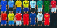 BRAND NEW FIFA WORLD CUP 2018 ALL KITS Sialkot