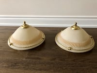 Set of 2 ceiling lights ( rustic style) Caledon, L7C 4C9