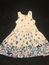 girl's white and pink floral sleeveless dress Weslaco, 78599