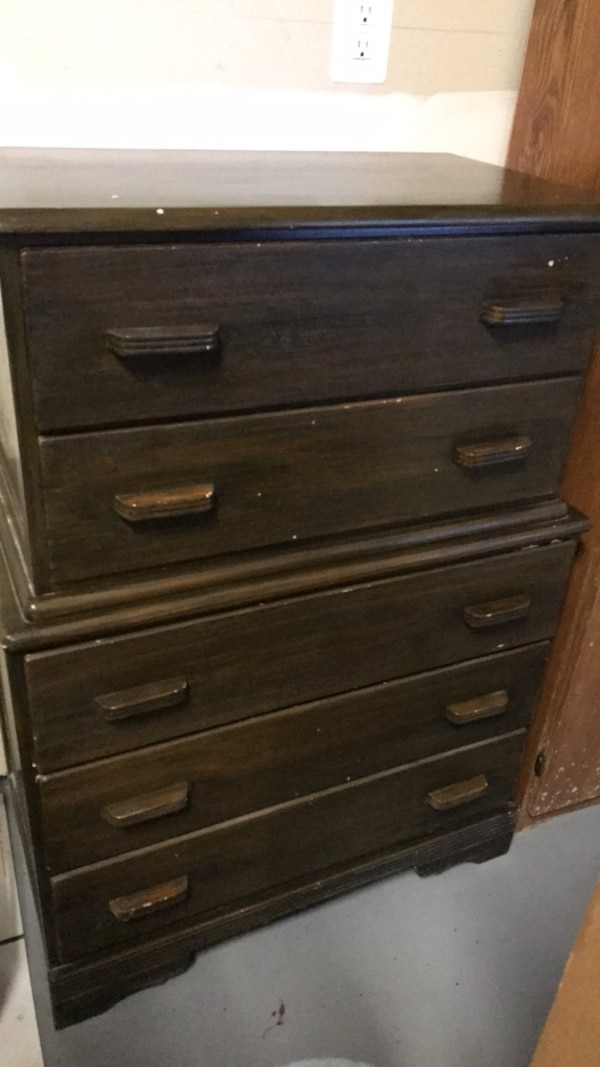 Chest of drawers, solid wood  0