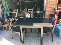 Table set, furniture, chairs, and other items! Toronto, M9C 1K4