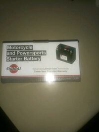 Motorcycle and Poersports Starter battery