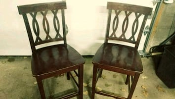 Refinishable Bar Counter chairs stools