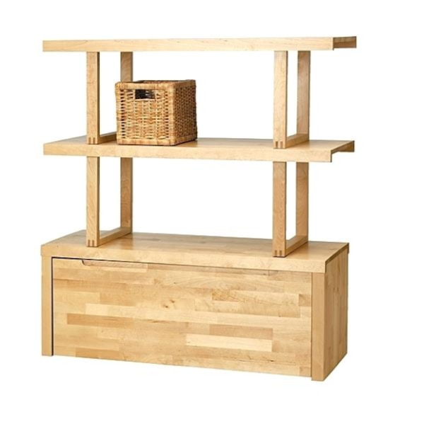 finest selection f0f67 872cd IKEA Norrebo Shelving Unit With Bottom Storage Drawer (discontinued from  stores)