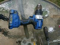 blue and black cordless power drill Rock Hill