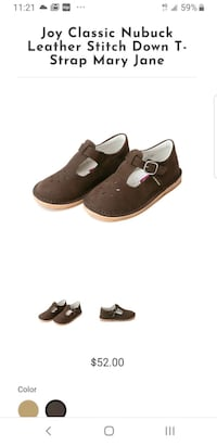 New suede size 8 toddler shoes Toronto, M3H 5X5