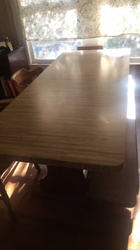 Table with bench seating and three chairs  Denison, 75021