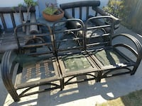Vintage Rattan sectional  Los Angeles, 90023