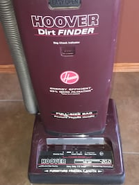 Maroon Hoover Dirt Finder with Vacuum tools Calgary, T3H 2V7