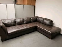 Leather sectional Herndon, 20170