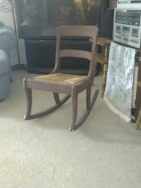 Antique brown wooden childs rocking chair  Farmington, 87401