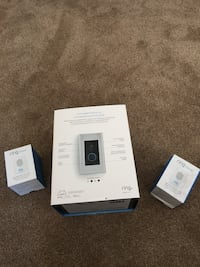Ring doorbell elite and two additional chimes Burlington, L7L 0Y6