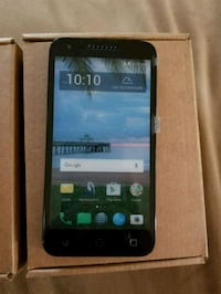 black alcatel android smartphone with box Hanford, 93230