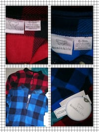 two red and blue plaid textiles Martinez, 30907