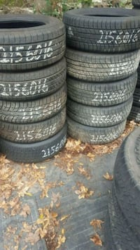 New @ used tires