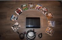 PS3 with 10 games and two controllers  Hornchurch, RM12 4AU