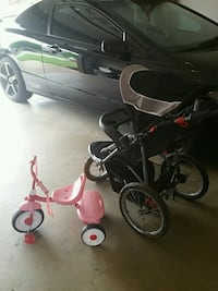 toddler's pink and white trike Oklahoma City, 73135