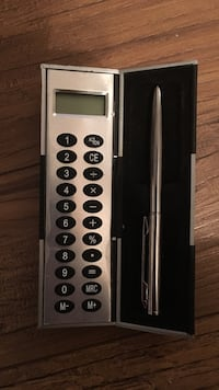 gray remote controller and silver fountain pen with case Frederick, 21702