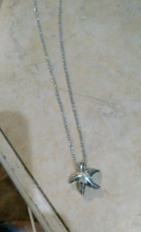 sterling starfish necklace  Jackson