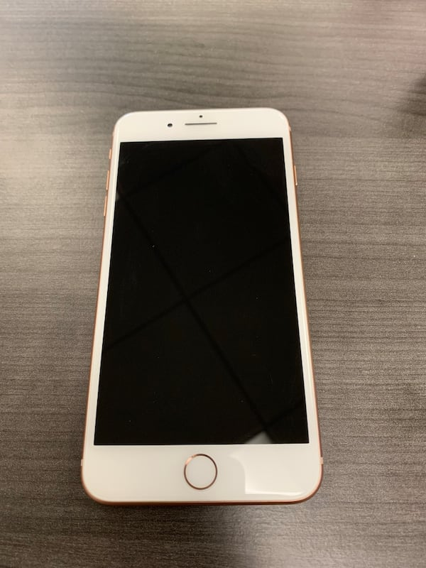 iPhone 8 Plus unlocked Gold 64gb Only one year old  Great condition 61b4fc70-e003-4200-9c77-7acd191d79d4
