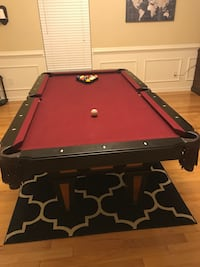 black and red billiard table Durham, 27703