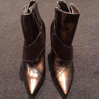 Patent Leather Ankle Boots from Marciano by Guess Stoney Creek, L8G 3N7
