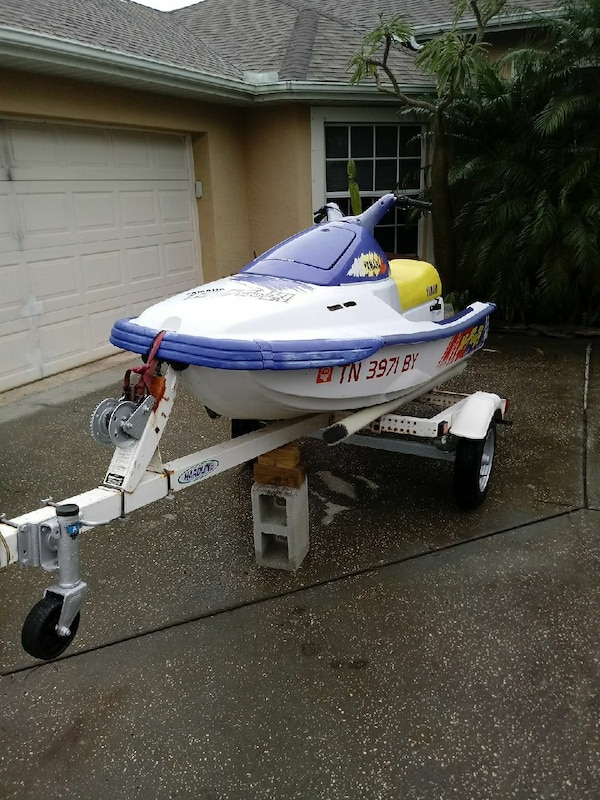 Yamaha Waverunner Trailers Going Along For The Ride