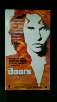The doors VHS tape