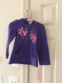 NEW - Size 3T hoodie Jacket for Little Girl Fairfax, 22033