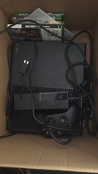 black Xbox One console with controller Lancaster, 93536